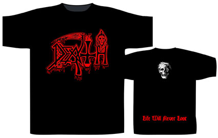 DEATH 官方进口原版 Life Will Never Last (TS-XXL)