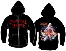 CANNIBAL CORPSE 官方出品帽衫 Eaten Back To Life (Hoodie-XL)