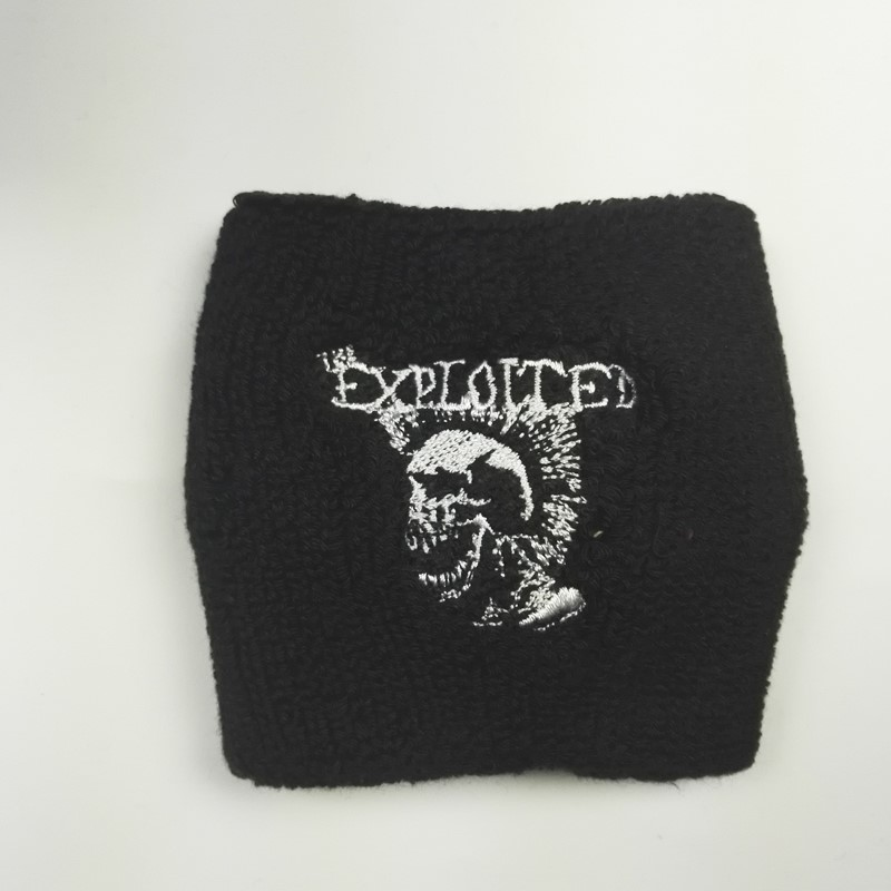 EXPLOITED,THE 官方进口原版运动护腕 Mohican Skull 17新品