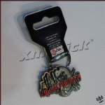IRON MAIDEN - The Number Of The Beast 乐队官方纪念品 进口原版钥匙扣 (Keyring)