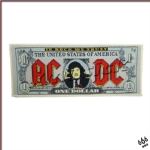 AC/DC 官方进口原版 One Dollar (Woven Patch)