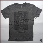 JOY DIVISION 官方进口原版 Unknown Pleasures 灰色(TS-M)