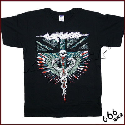 CARCASS 官方进口原版 Medical Snakes (TS-M)