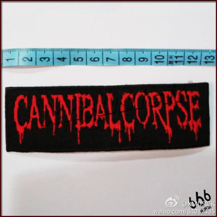 CANNIBAL CORPSE - Logo (Embroidered Patch) TTP1410