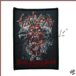 SLAYER 官方进口原版 World Painted Blood (Woven Patch)