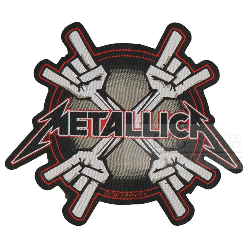 METALLICA 官方进口原版 Evil Fingers (Woven Patch)