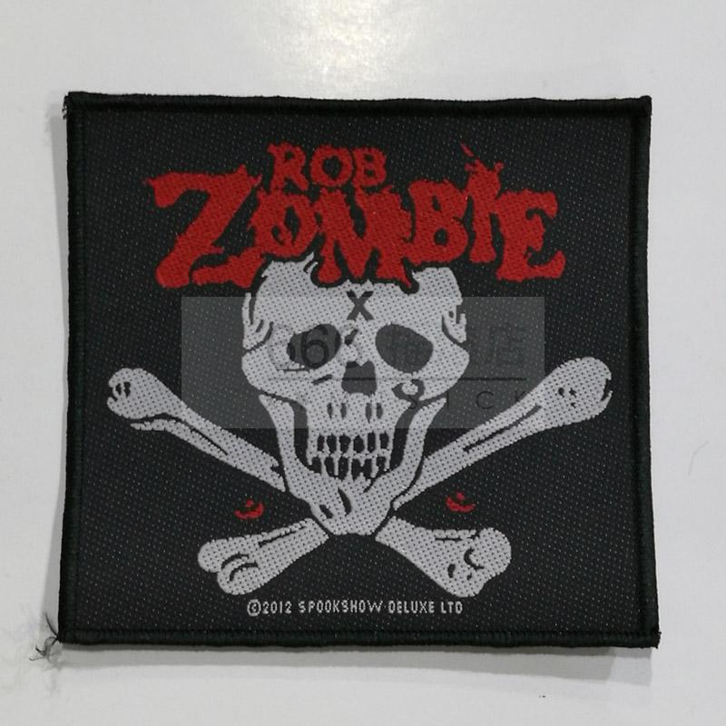 ROB ZOMBIE 进口官方原版 Skull (Woven Patch)