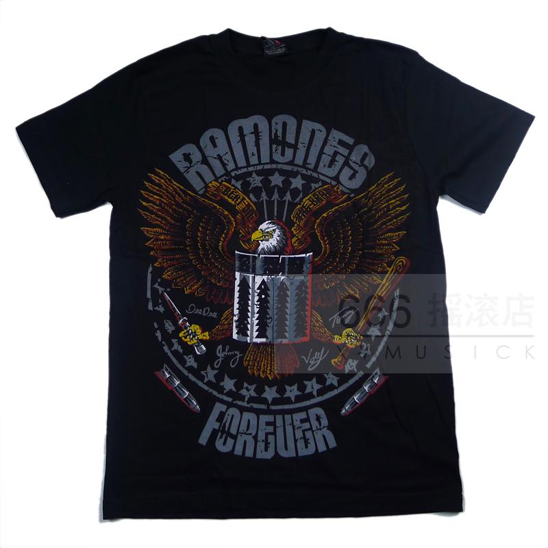 RAMONES - Forever (TS-L) TTH1703