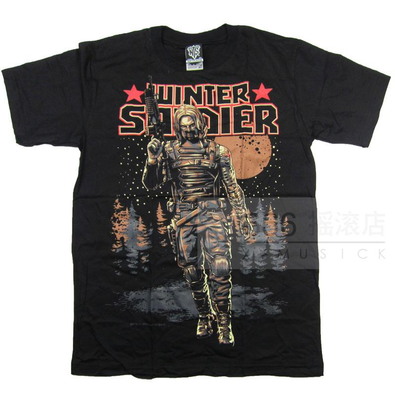 WINTER SOLDIER - 冬兵 (TS-XL)TTN 1704