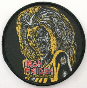 IRON MAIDEN 官方进口原版 Killers 圆形 (Woven Patch)