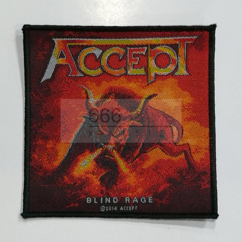 ACCEPT 官方进口原版 Blind Rage (Embroidered Patch)