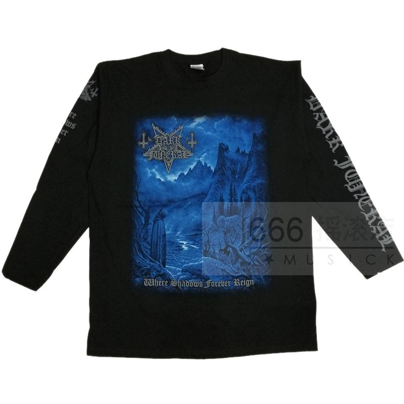 DARK FUNERAL 官方进口原版长袖 Where Shdows Forever Reign (LS-L)