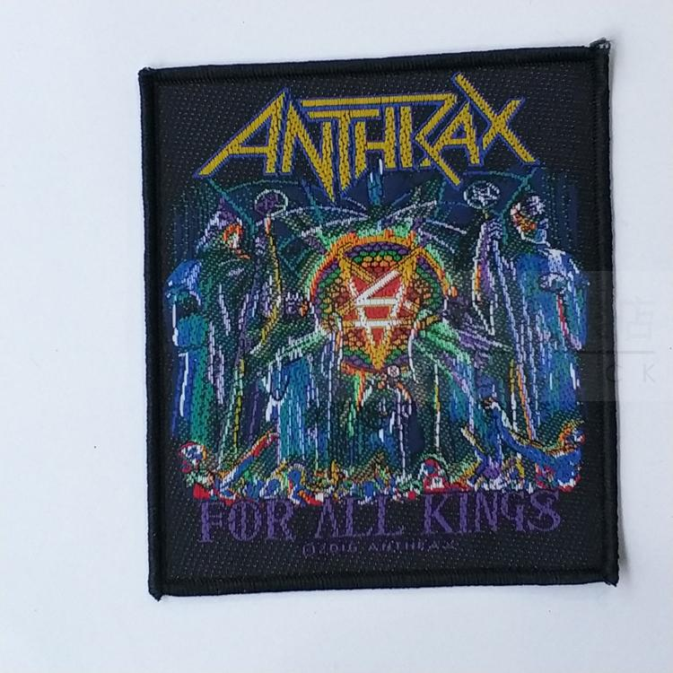 ANTHRAX 官方进口原版 Worship The Music (Woven Patch)