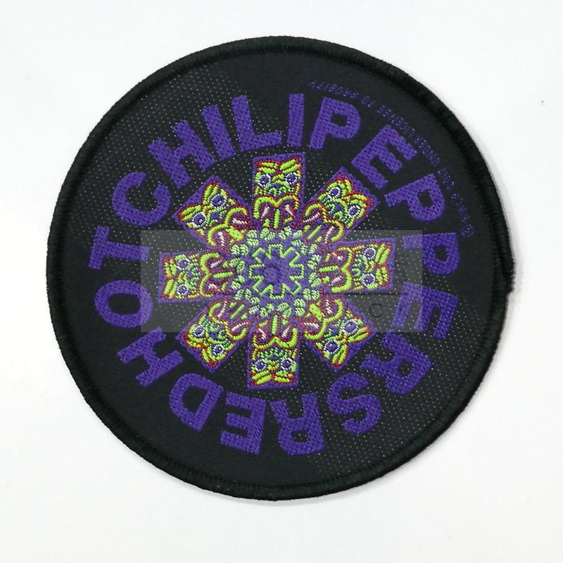 RED HOT CHILE PEPPERS 进口官方原版 circle logo (Woven Patch)