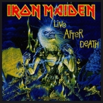 IRON MAIDEN 官方进口原版 Live After Death(Woven Patch)