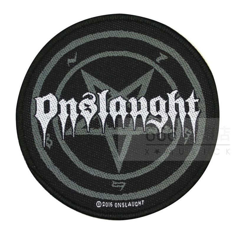 ONSLAUGHT 官方进口原版 Pentagram Logo (Woven Patch)