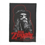 ROB ZOMBIE 进口官方原版 Rob Zombie Face 2 (Woven Patch)