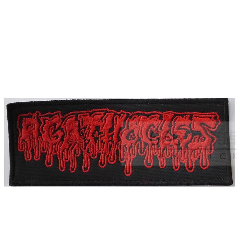AGATHOCLES - Logo  (Embroidered Patch)