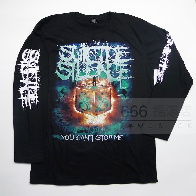 SUICIDE SILENCE - You Cant Stop Me (LS-XL) TTL1609