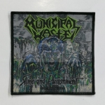 MUNICIPAL WASTE 官方进口原版 Slim and Punishment (Woven Patch)