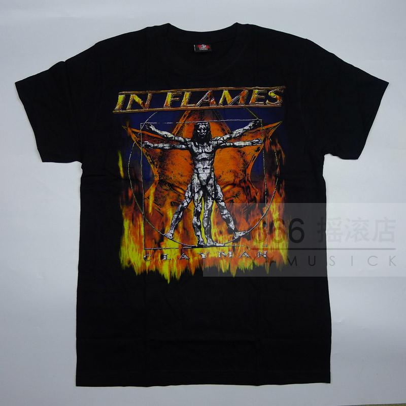 IN FLAMES - Clayman (TS-S) TTH1708