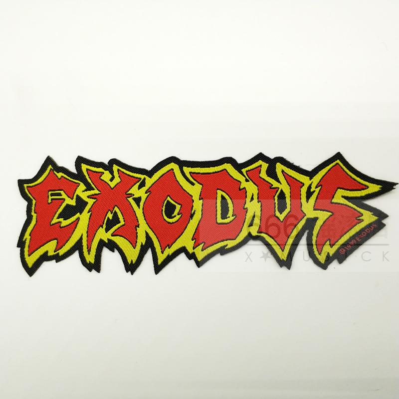 EXODUS 官方进口原版 Shaped Logo (Woven Patch)