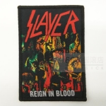 SLAYER 官方进口原版 Reign in Blood (Woven Patch)