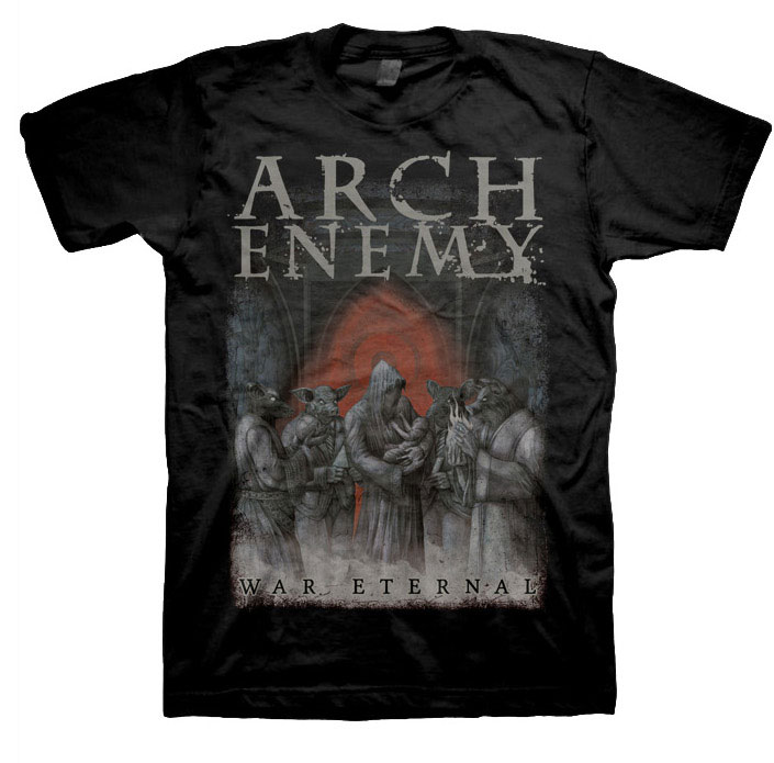ARCH ENEMY 官方进口原版 War Eternal Cover (TS-S)