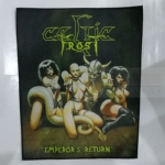 凯尔特严寒 (CELTIC FROST) 进口印制背标 Emperors Return (Back Patch)