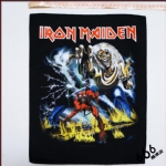 铁娘子 (IRON MAIDEN) 官方进口原版背标 The Number of the Beast (Back Patch)