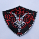 ARCHGOAT - Logo 盾牌白边 (Embroidered Patch)