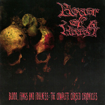 HORROR OF HORRORS - Blood, Fangs and Foulness (2CD)