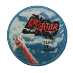 KREATOR 官方进口原版 Flag of Hate (Woven Patch)