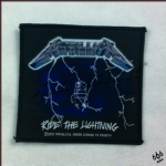 METALLICA 官方进口原版 Ride The Lightning (Woven Patch)