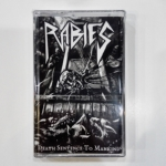 RABIES - Death Sentence to Mankind (Cassette)