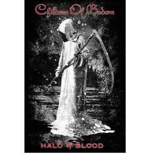 CHILDREN OF BODOM 官方正版出品 Halo of Blood 挂旗 海报 加厚