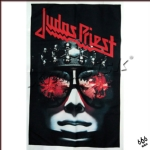 JUDAS PRIEST 官方进口原版 Hell Bent For Leather 挂旗 海报(加厚)