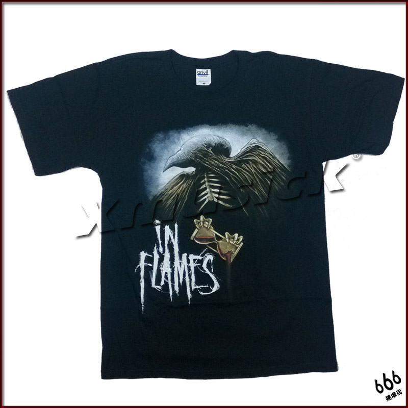 IN FLAMES 官方进口原版 Deliver Me (TS-XL)