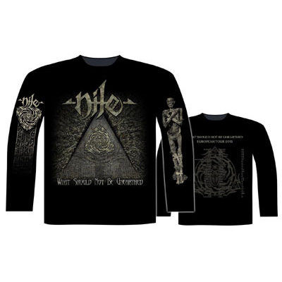 NILE 官方进口原版长袖 What Should Not Be Unearthed (TS-XL)