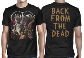 OBITUARY 官方进口原版 Back From The Dead (TS-L)
