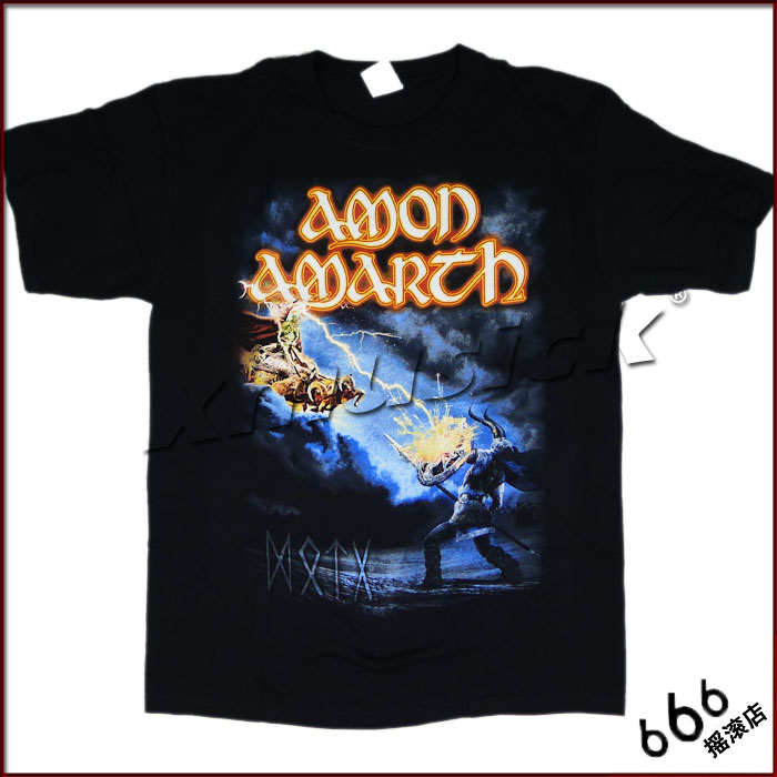 AMON AMARTH 官方进口原版 - Deceiver of The Gods(TS-XL)