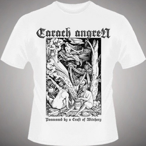 CARACH ANGREN 官方进口原版 Possessed By A Craft (TS-M) 白色