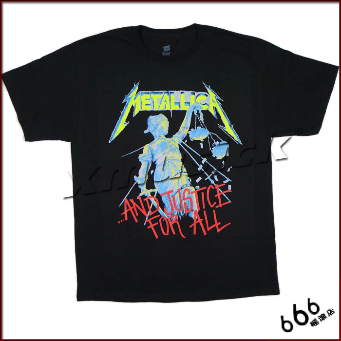 METALLICA 官方进口原版 Justice For All (TS-L)
