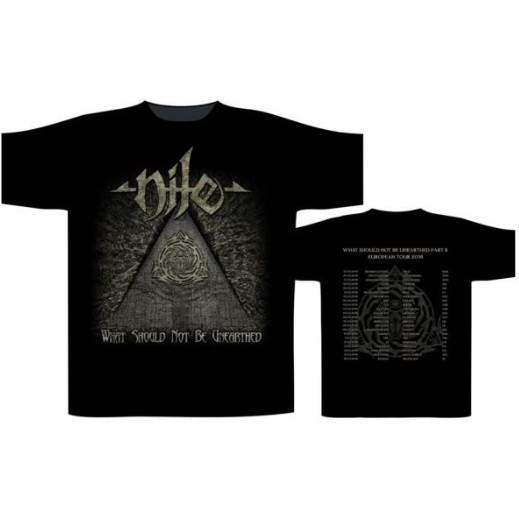 NILE 官方进口原版 What Should Not Be Unearthed Tour (TS-M)