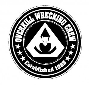 OVERKILL 官方进口原版 Wrecking Crew (Woven Patch)