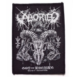 ABORTED 官方进口原版 God of Nothing (Woven Patch)
