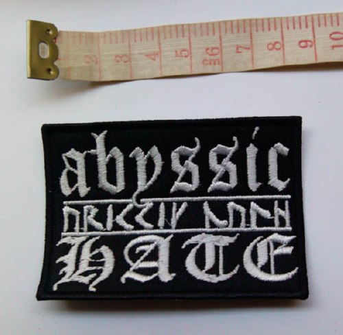 ABYSSIC HATE - Logo (Embroidered Patch)
