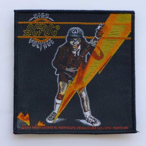 AC/DC 官方进口原版 High Voltage (Woven Patch) 16新款