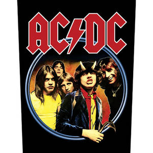直流交流 (AC/DC) 官方进口原版背标 Highway To Hell (Back Patch)