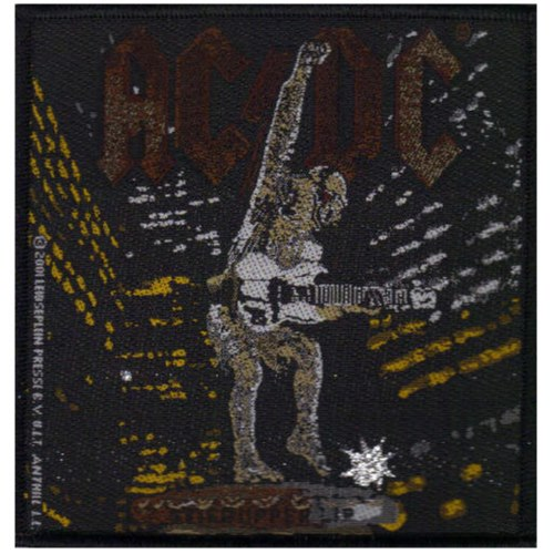 AC/DC 官方进口原版 Stiff Upper Lip (Woven Patch)